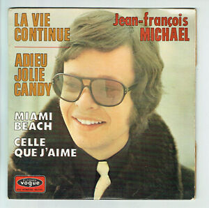 Details about Jean-François Michael Vinyl 45 Rpm EP Farewell Jolie Candy  -miami Beach - Vogue