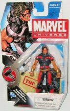 WARPATH ( RED & BLUE VARIANT ) MARVEL UNIVERSE ( SERIES #2 ) ACTION FIGURE #003