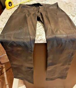 Pantalon femme chromé 100 pour 2 cuir authentique en taille rqO7wIpr