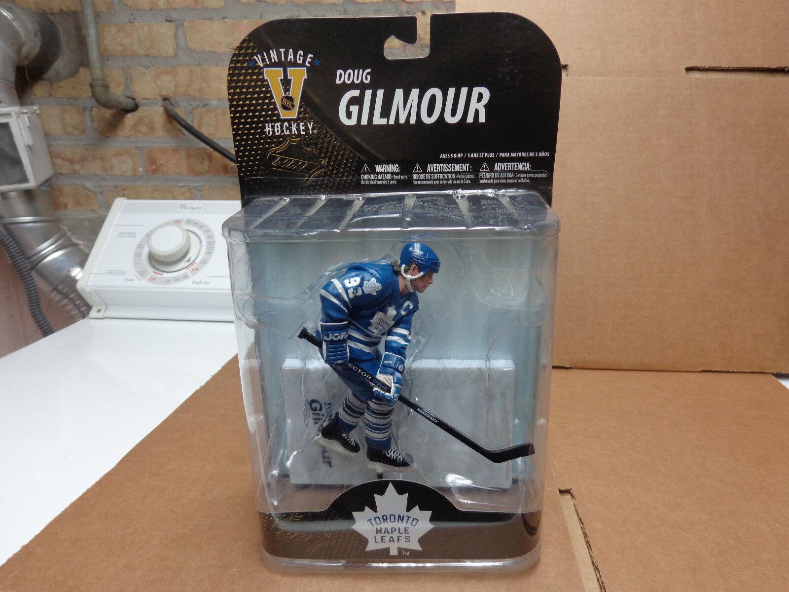 MCFARLANE DOUG GILMOUR TgoldNTO NHL LEGENDS 7 ACTION FIGURE