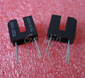 5PCS-TCST1103-SENSR-OPTO-SLOT-3-1MM-TRANS-THRU-4-Lead-Dual-Row-NEW