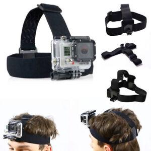 Arnes-de-cabeza-ajustable-Elastica-Cinturon-Correa-de-banda-de-Montaje-para-Gopro-HD-Hero