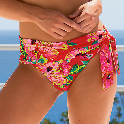 Heatwave Fold Over Bikini Brief Pant 86003 Ditsy Print Pour Moi