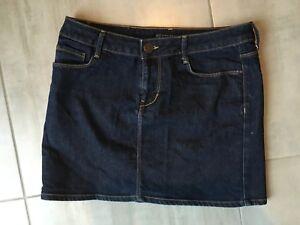 économiser 516fe c2cc3 Détails sur Mini jupe en jean Marque Zara