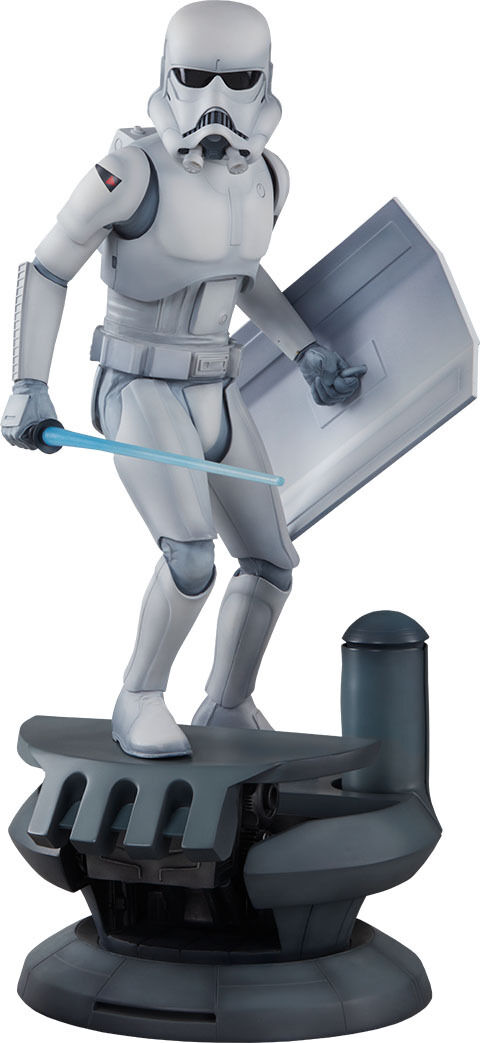 STAR WARS - Stormtrooper 18.5  Ralph McQuarrie Statue (Sideshow Collectibles)