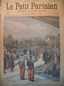MARSEILLE-SAVORGNAN-DE-BRAZZA-CANAL-DE-SUEZ-EPAVE-JOURNAL-LE-PETIT-PARISIEN-1905