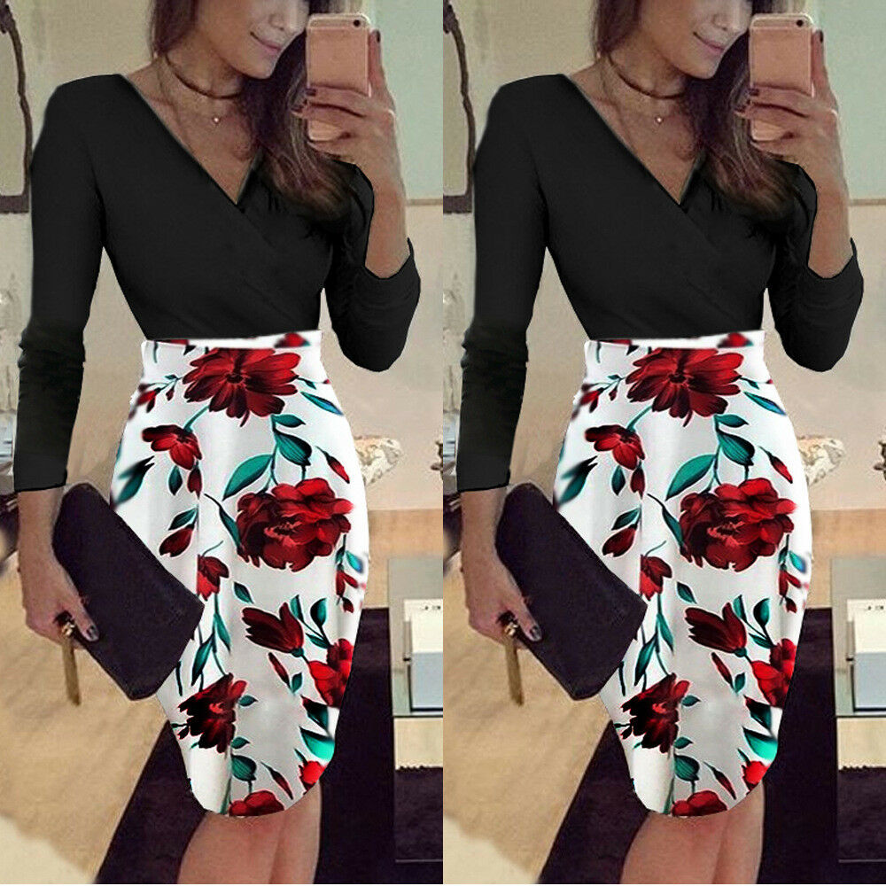 Elegant Women Business Office Work Formal Formal Formal Skirts Evening Party Bodycon Dresses 0f72ce
