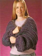 COZY Warm Shrug/Apparel/Crochet Pattern INSTRUCTIONS ONLY