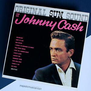 JOHNNY CASH SUN SOUND VINYL LP ORIGINAL 1964 PRESSING RARE