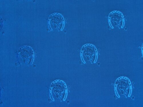 Phillips et piper Rare Deadstock Fox Head équestre Costume doublure tissu par m