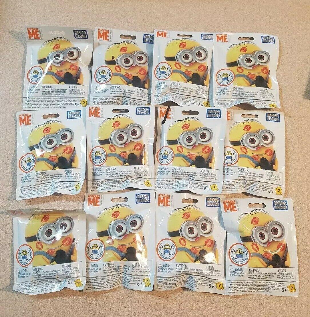 Lot of 12 Minions Mega Bloks Bloks Bloks Despicable Me Blind Bags 9db76f