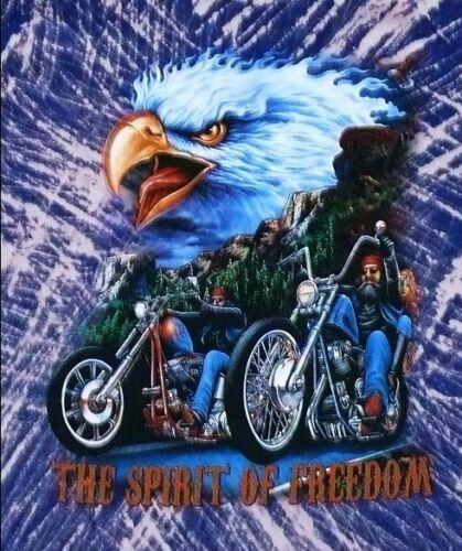 Bambini T-Shirt: AQUILA MOTO BIKER Tg 122//128 AQUILA USA Chopper 146//152