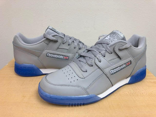 MENS REEBOK CLASSIC WORKOUT PLUS ICE ICE ICE Stark grigio bianca Ice CN7180 162899