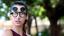 thumbnail 46 - Flip Up Circle Steampunk Glasses Goggles Sunglasses Emo Retro Vintage Cyber Punk