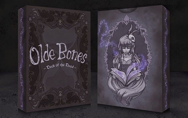 Olde Bones: Deck of the Dead Playing Cards - Printed by USPC NEW