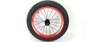 Huffy-Spider-Man-Bike-14-034-Blue-Red-replacement-front-wheel-part-only-new