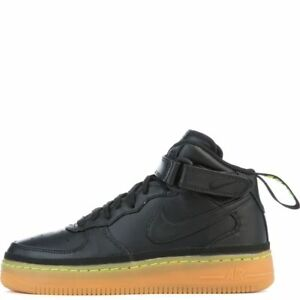 Nike Air Force 1 High 07 LV8 Black Gum Light Brown SZ 10.5 ( 806403 003 )