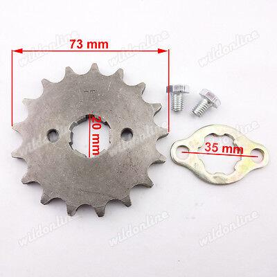 420 13 Zähne 17mm  Vorn Engine Kettenrad für ATV Quad Pit Dirt Bikes