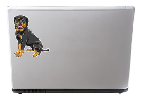 2 x 15cm Rottweiler Dog Sticker Car Bike Laptop Animal Gift Tablet Dogs #5983