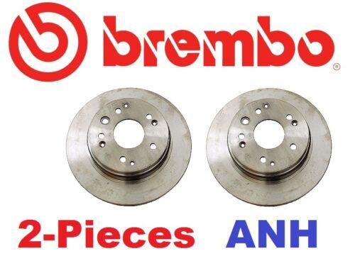 2-Pieces Genuine Brembo 25655 Rear Brake Rotors
