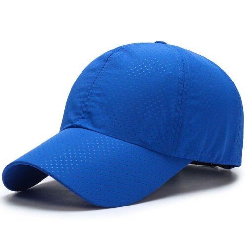 Running Cap Quick Drying Ultra-slim Fabric Summer Breathable Mesh Caps