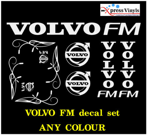 truck graphics stickers VARIOUS COLOURS Volvo FM decal MEGA PACK