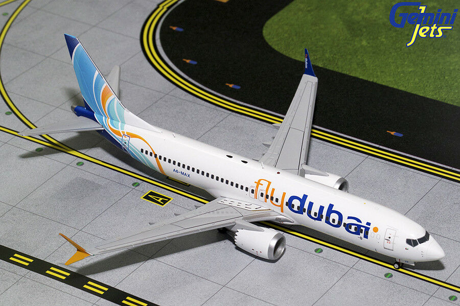 GEMINI JETS FLYDUBAI BOEING 737 MAX 8 1 200 200 MODEL G2FDB717 IN STOCK