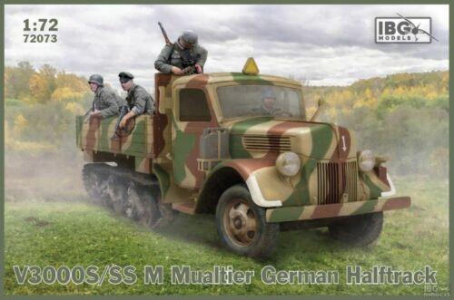 IBG 72073 V3000S//SSM Maultier German Halftrack scale 1//72