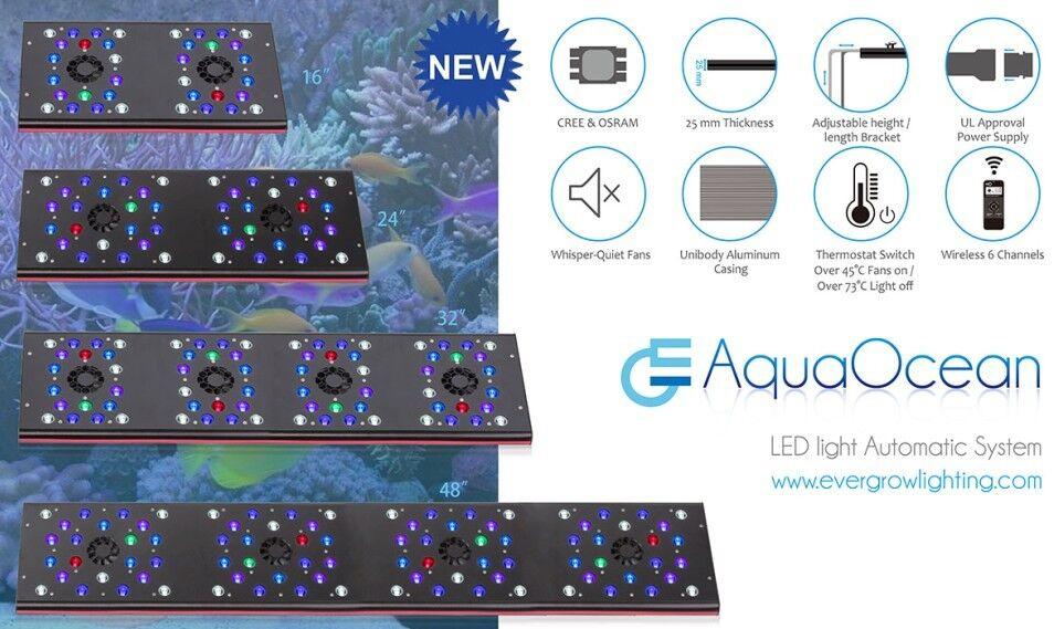 Evergrow AquaOcean IT5060 PRO LED Light, UK Stockist Next Day Delivery