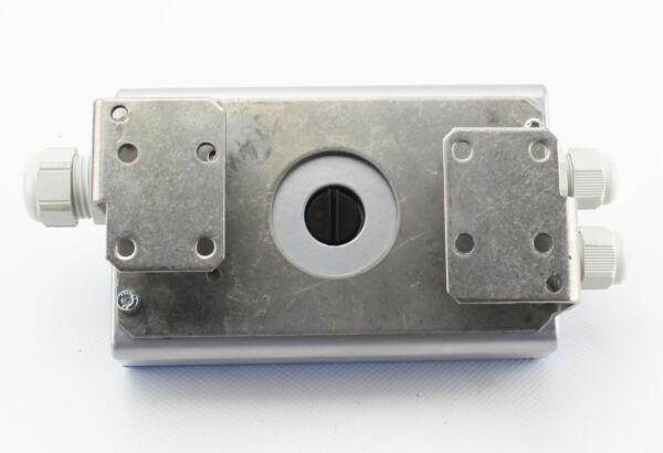 Tischleuchte Honsel Thor 98081 Lampe Stoffschirm Weiß Sterndekor Schnurschalter