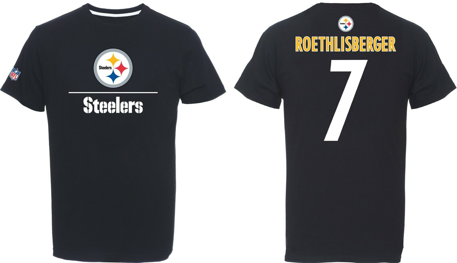 NFL NFL NFL Football T-Shirt PITTSBURGH STEELERS Ben Roethlisberger Nr 7 Aggressiv Speed 3c56e7