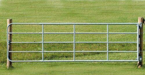 Weidetor verstellbar mit Montageset Weidezauntor Feuerverzinkt Höhe 110 cm