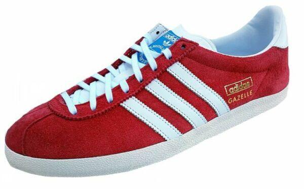 Size 8 - adidas Gazelle OG Red for sale online | eBay