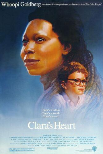 CLARA/'S HEART ORIGINAL MOVIE POSTER ROLLED 1988