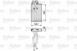 VALEO (811525) Wärmetauscher Innenraumheizung für CITROEN MITSUBISHI PEUGEOT