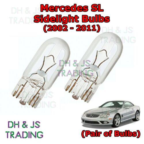 02-11 Parking Lights Side Light Bulb Bulbs Mercedes SL Front Sidelights
