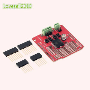 L298P 2A Dual Channel DC Stepper Motor Driver Shield Module