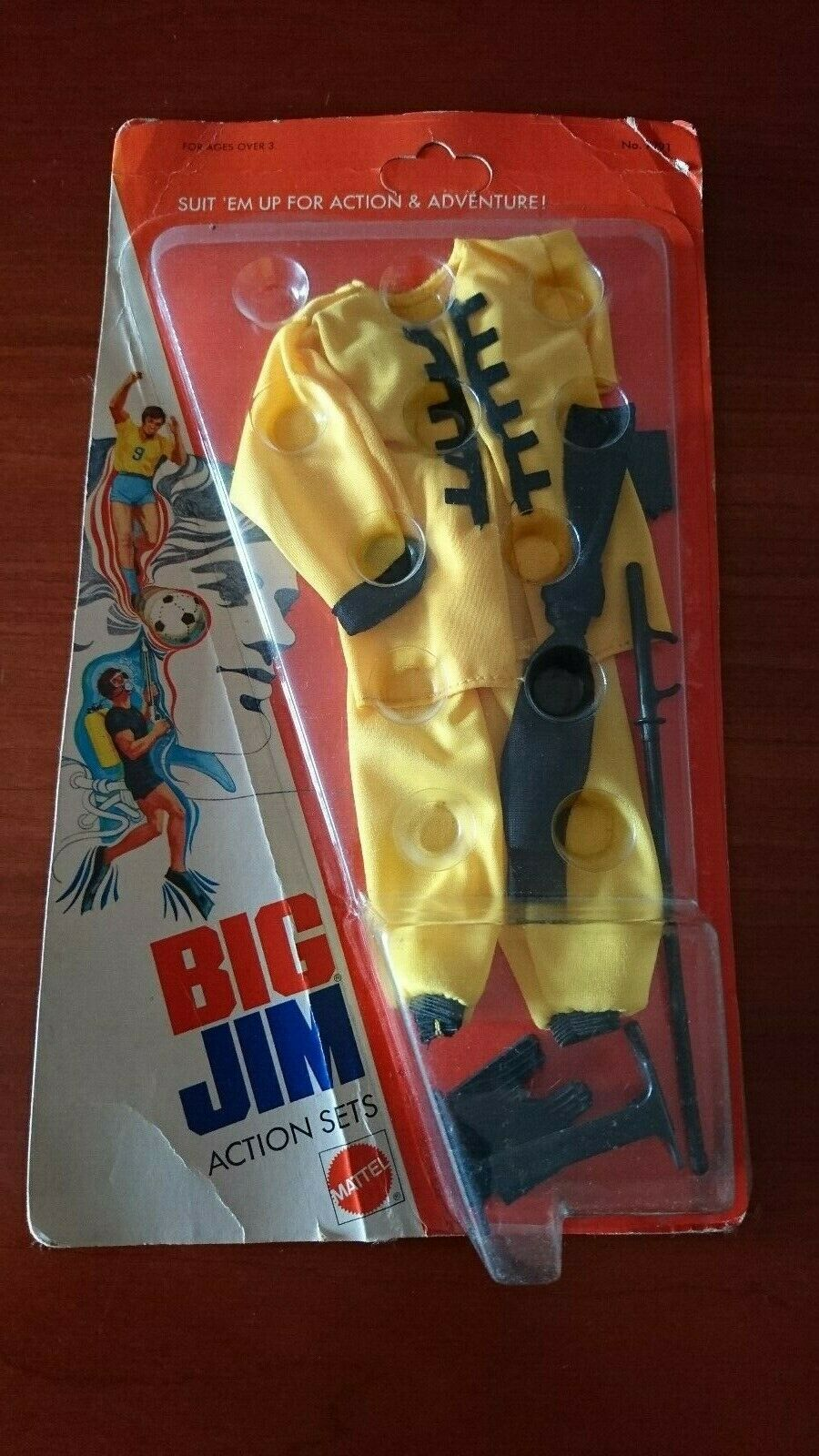 Big JIM MATTEL  ADVENTURE SET Outfit   7391 Kung Fu Sealed & voitureded Good Condition  des prix moins chers