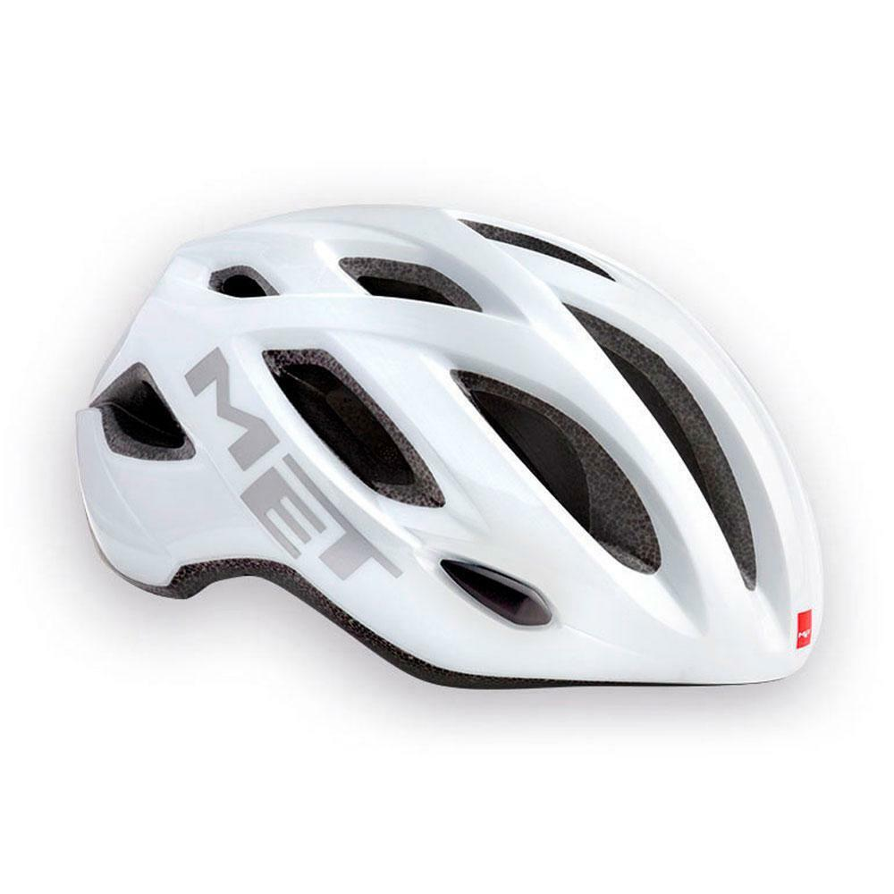 Road Bike Cycle Helmet MET Idolo White