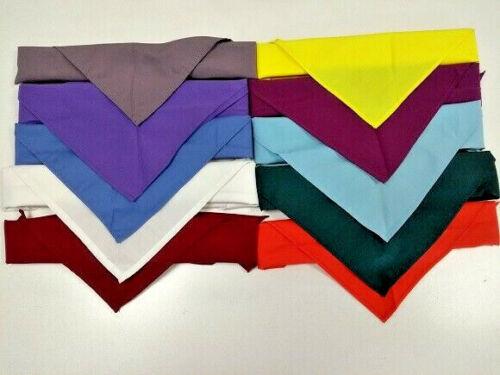 Girlguiding Neckerchief Assorted Colours OFFICIAL SUPPLIER