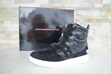 KATIE GRAND HOGAN Tods Tod´s Gr 37,5 High-Top Sneakers schwarz nero NEU UVP 425€