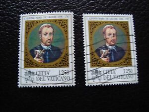 Vatican-Stamp-Yvert-and-Tellier-N-1051-x2-Obl-A28-Stamp