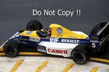 THIERRY BOUTSEN Williams FW13B f1 stagione 1990 FOTO 2