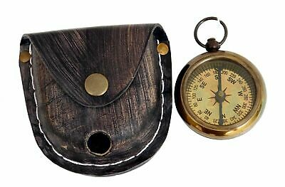 Brass Pocket Compass Nautical White Star Line R.m.s Titanic 1912 Item Other Maritime Antiques