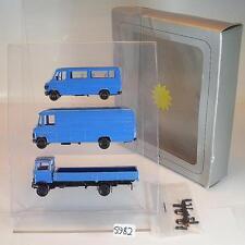 Herpa 1/87 Set Mercedes Benz Kastenwagen & Pritschenwagen 3 teilig OVP #5982