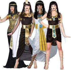 Da Donna per Adulti CLEOPATRA Costume Principessa Regina Egiziana Costume Vestito da donna