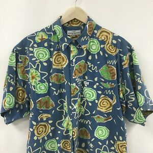 Vintage-Mens-Medium-GUESS-Georges-Marciano-Short-Sleeve-Shirt-Made-in-USA-2c