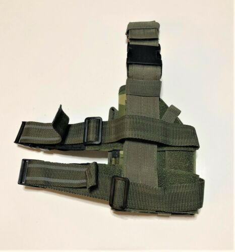 Adjustable Tactical Universal Drop Leg Platform Holster W//Quick Release Straps