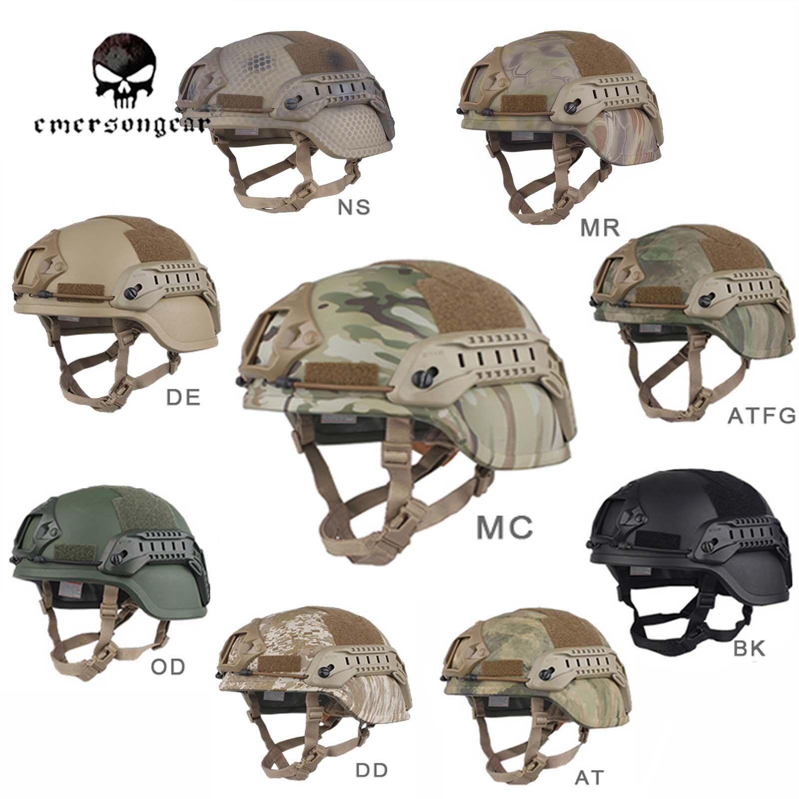 Emerson ACH MICH 2000 Helmet Special Action Version Tactical Predective  Helmet  very popular