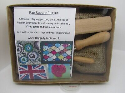Rag Rugger Tool Rug Kit Recycling